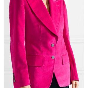 Tom Ford - Fuchsia pink velvet Blazer  Size 34